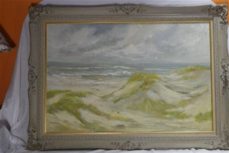 Sand Hills by the Beach Oil Painting