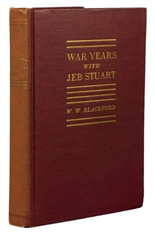 BLACKFORD - War Years with Jeb Stuart 1945