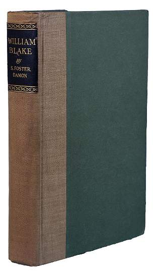 DAMON - William Blake: His Philosophy and Symbols 1924