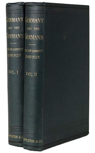DAWSON - Germany and the Germans 1894