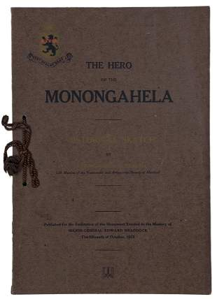 FRENCH AND INDIAN WAR - The Hero of Monongahela 1913