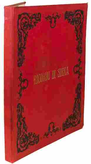 PHOTOGRAPHS - Ricordo di Siena circa 1890