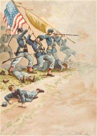 HARLOW - Army Memories, Civil War 1887