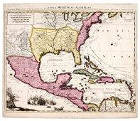 SCHENCK - Mexico/Florida, America 1710