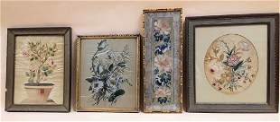 ANTIQUE FLORAL EMBROIDERY