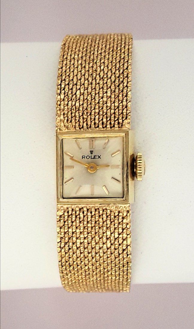 LADIES 14K GOLD ROLEX WRISTWATCH