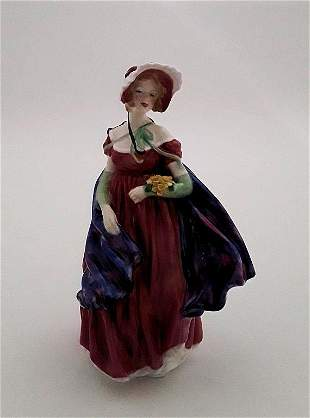 LADY APRIL - ROYAL DOULTON FIGURE