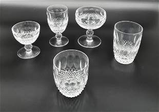 WATERFORD COLLEEN  CRYSTAL GLASSWARE