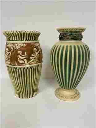 2 Roseville Pottery