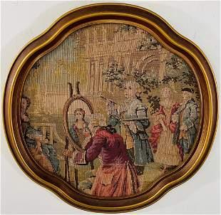Gobelin French Style Framed Tapestry