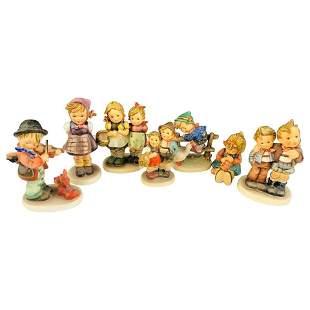 Vintage M.I.Hummel Goebel Original Figurines, Set of 7