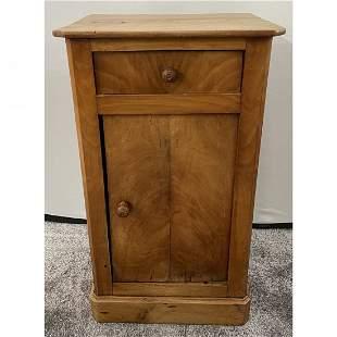 19th Century Northern European Wooden Nightstand