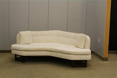 Edward Wormley for Dunbar Mid Century Boomerang sofa C.