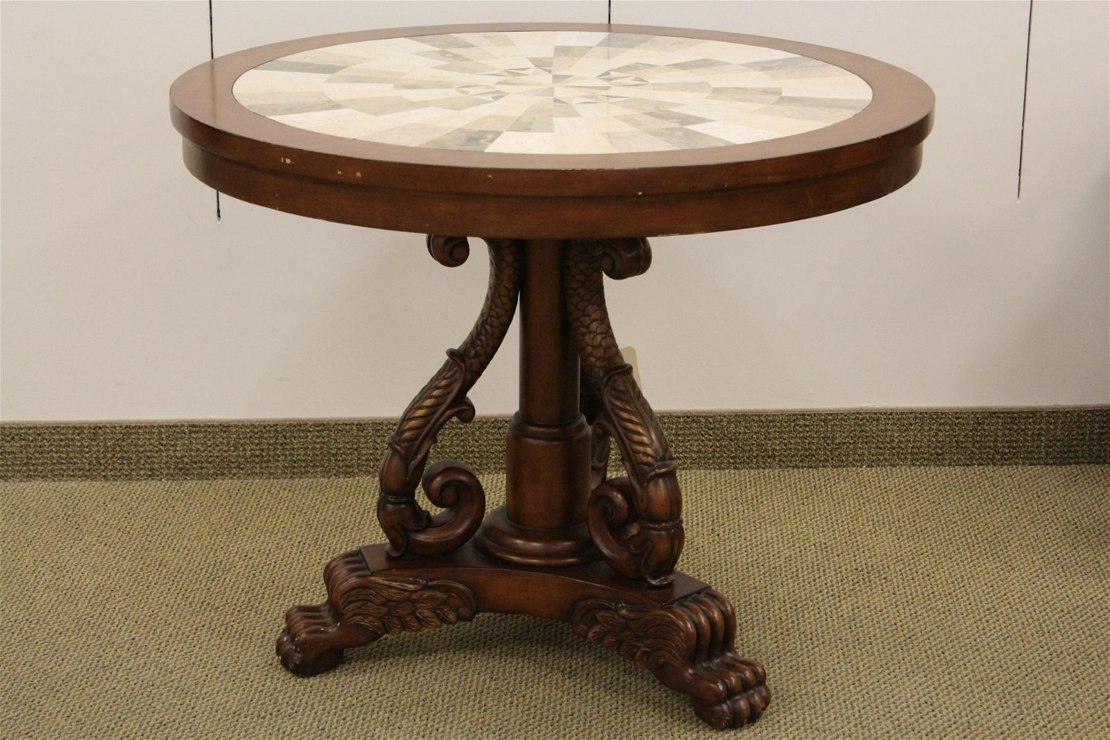 Marble Mosaic Round Table