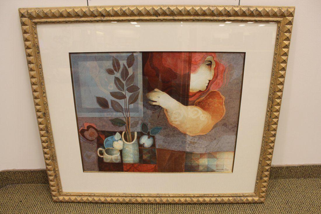"Signed ""Alvar"" Wentworth Gallery"
