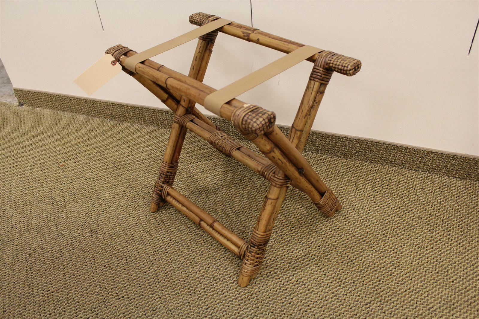 Bamboo Luggage Valet