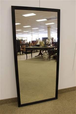 Black framed Mirror by Havens