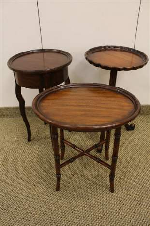 Lot 3 Side Tables: Maitland Smith, Milling Road