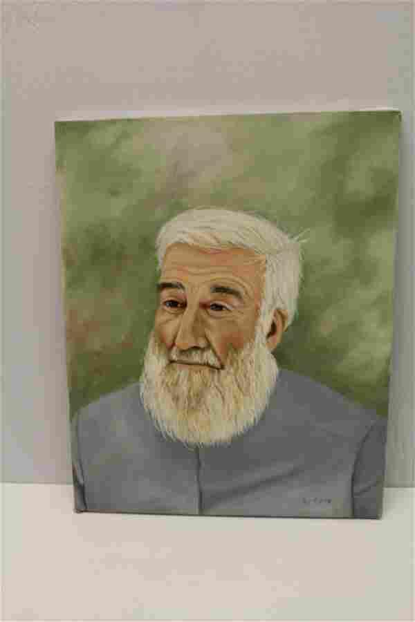 Signed Oil on Canvas E. Cone