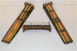 Pre-War Bing Train 3Pc Track Bridge