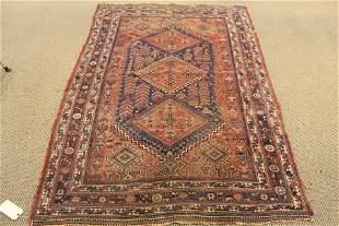 Caucasian Wool Carpet, Antique