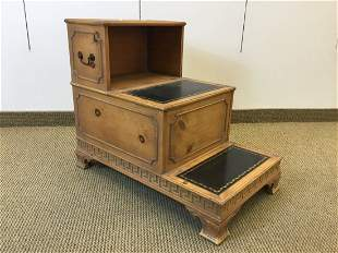 Georgian Neoclassical Style Step Form Side Table