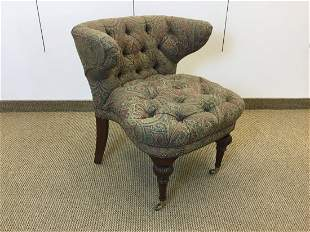 English Regency Style Library Club Chair