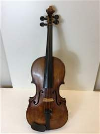 Violin Labeled Valentino De Zorzi 1861