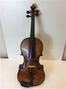 Violin Labeled Valentino De Zorzi 1861
