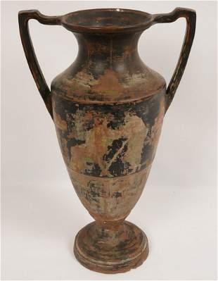 Greek Terracotta Urn