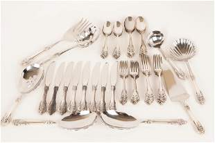 Wallace Sterling Dinner Service