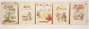 5 Vol. Shirley Goulden/ Lewis Carroll Children's Books