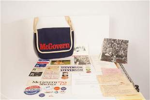 Lot of Kennedy/McGovern Campaign Materials