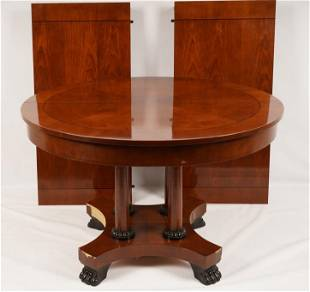 Empire Style Baker Ext. Dining Table