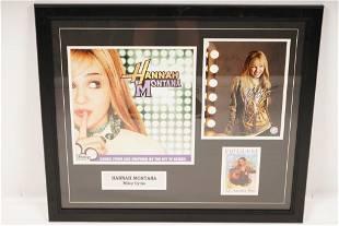 "Signed Hannah Montana ""Miley Cyrus"" Photo Ticket"