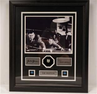 The Hustler Jackie Gleason Paul Newman SIGNED