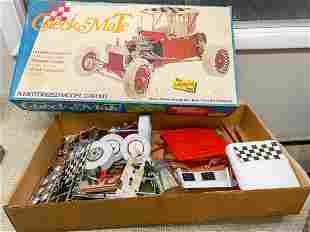 Vintage The Lindberg Line Old Checkmate Model Car Kit