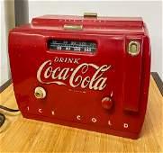Antique Bakelite Coca Cola Radio