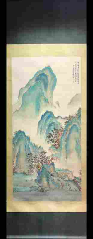 ATTRIBUTED AND SIGNED YIN ZIXIANG (1909-1984). CHINESE