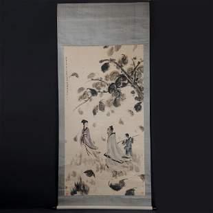 Chinese Handmade Painting scroll-Fu Baoshi
