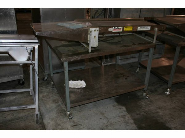 1834: BELSHAW CONVEYOUR W/TABLE
