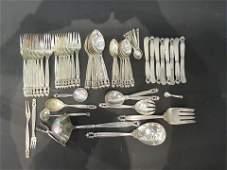 Georg Jensen Acorn Pattern Sterling Silver Flatware