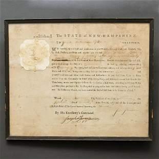 New Hampshire Appointment, John Sullivan