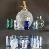 Lot Of Contemporary New Hampshire Art Glass