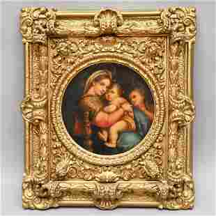 After Raphael, Madonna Della Seggiola