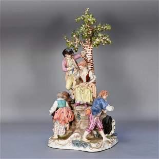 Royal Vienna Porcelain Figural Group