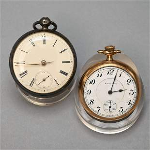 English Fusee Movement Pocket Watch & Another