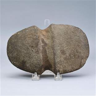 Fully Grooved Stone Axe Head