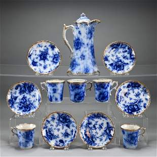 Flow Blue Chocolate Set by Warwick