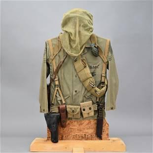 US Military Soldier Field Gear Display - Hartmann